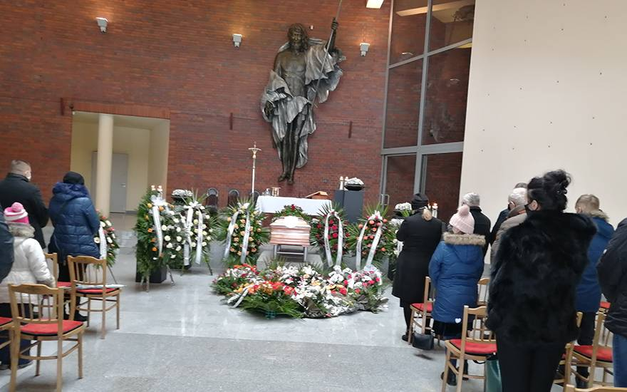 Usługi pogrzebowe Zasępa